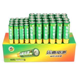 双鹿 碱性5号24粒+7号16粒 AA电池24粒+AAA电池16粒装 *4件169.6元(合42.4元/件)