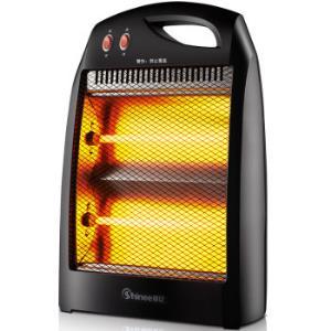 Shinee 赛亿 QH-1000H 石英管取暖器39.9元