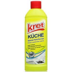 Kret 厨房管道清洁疏通液 500ml 19.9元,可199-100元
