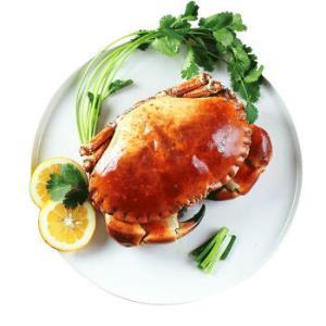 Clearwater/北极清水 英国进口熟冻面包蟹/黄道蟹 400-600g/只 袋装 海鲜水产 *4件228元(合57元/件)