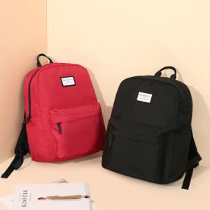 稻草人 MEXICAN 双肩背包女士韩版大容量轻便休闲旅行袋 红色 *3件172.8元(合57.6元/件)
