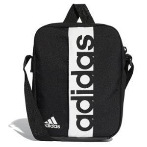 阿迪达斯 adidas 单肩包 LIN PER ORG 男女斜挎包运动休闲小肩包 S99975 黑色 *2件+凑单品128元(合64元/件)