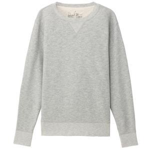 无印良品 MUJI 男式 粗细不均棉线毛圈运动衫99元