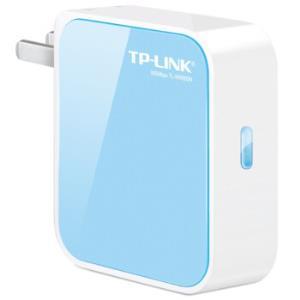 TP-LINK 普联 TL-WR800N 300M迷你型无线路由器99元