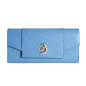 TRUSSARDI 杜鲁萨迪女式亮蓝色牛皮手拿斜挎包76W000041Y090480 U030 NR 1046元