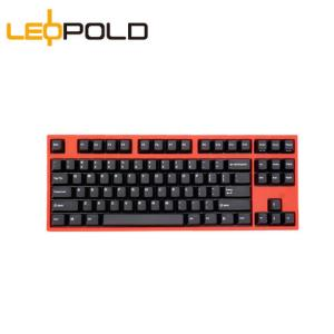 Leopold  利奥博德 FC750R PD版 87键 PBT机械键盘 Cherry原厂 红轴 赤色 898元