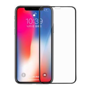 MOCOLL 苹果iPhone X 钢化膜/保护膜 3D曲面全屏防蓝光高清防爆贴膜 康宁玻璃 黑色98元