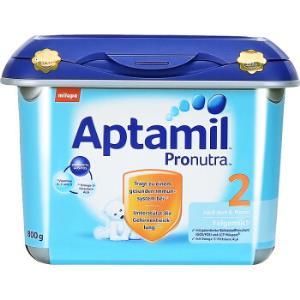 Aptamil 德国爱他美 婴幼儿配方奶粉 安心罐 2段 6-10个月 *2件205.5元含税包邮(合102.75元/件)