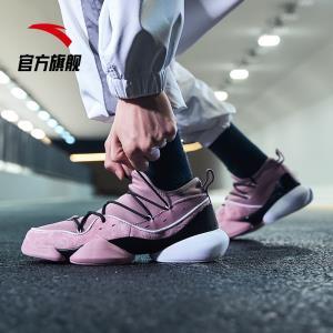 安踏官网男鞋2019年春季新款运动鞋UFO篮球潮流文化休闲鞋911803