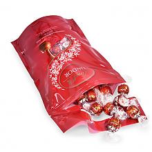 情人节好礼!Lindt 瑞士莲 软心巧克力球 牛奶味 1kgprime会员直邮到手144元(天猫168g售96元)
