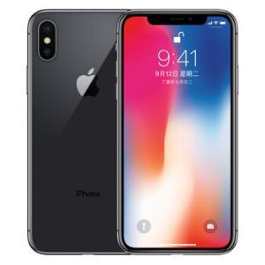 Apple iPhone X (A1865) 64GB 深空灰色 移动联通电信4G手机5939元