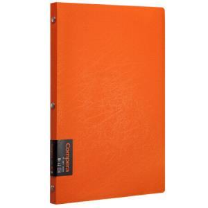 Comix 齐心 C7004 Compera原味系列 活页笔记本 B5 50张 橙 *14件123元(合8.79元/件)
