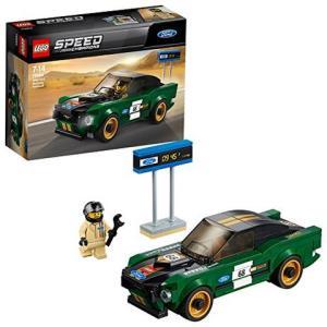 LEGO 乐高  拼插类 玩具  Speed Champions 超级赛车系列 1968款福特野马 75884 7-14岁108元