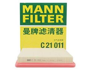 MANNFILTER 曼牌 空气滤清器C21011(宝来/捷达/速腾/高尔夫7/嘉旅/Polo/朗境/朗行/桑塔纳/昕锐/晶锐