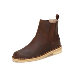 clarks其乐女鞋冬季2018新款Desert Peak切尔西靴沙漠靴短筒靴女