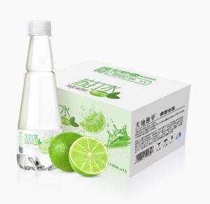 天地精华青柠檬苏打水饮料整箱无糖无汽碱性矿泉饮用水410ml*15瓶 25.9元(需用券)