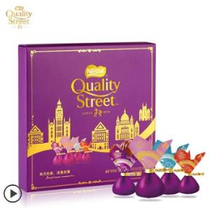天猫 情人节好礼:雀巢 QUALITY STREET 凯利恬花街巧克力礼盒装77g (需用券)19.9元包邮