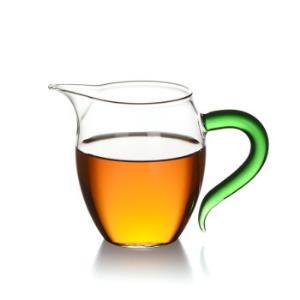 茶具高硼硅耐热玻璃公杯 公道杯 匀杯 分茶器 茶海 炫彩绿森林企鹅公杯(380ML)C-85-20-139元(需用券)