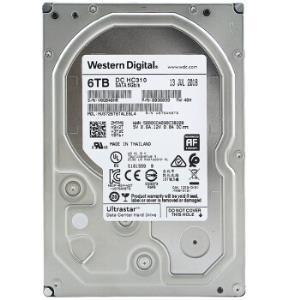 西部数据(Western Digital) 6TB SATA6Gb/s 7200转256M 企业级硬盘(HUS726T6TALE6L4)1499元
