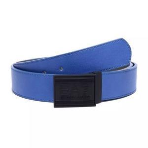 EMPORIO ARMANI EA7 阿玛尼 男士人造革板扣式双面皮带腰带 275376 8P693 22933-蓝色灰色 均码359元