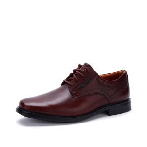 clarks其乐商务正装皮鞋舒适纯色英伦风Unbrylan Plain德比鞋男 739元