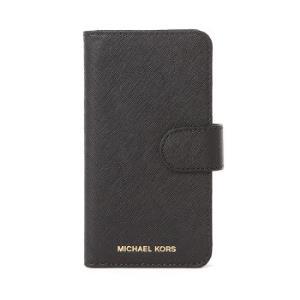 MICHAEL KORS 迈克・科尔斯 MK手机壳 iphone7/iphone8 黑色牛皮十字压纹女士手机壳 32S7GE7L4L BLACK *5件875元(合175元/件)