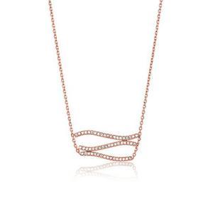 MICHAEL KORS 迈克高仕 女士波浪不规则时尚项链 玫瑰金色 *3件837元(合279元/件)