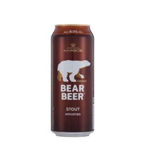 原装进口哈尔博(Harboe)棕熊黑啤酒500ml*24整箱装 *2件228元