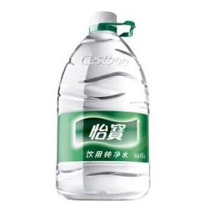怡宝 饮用水 纯净水4.5L*4桶装水 整箱装 *3件101.7元(合33.9元/件)