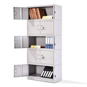 中伟文件柜办公柜钢制铁皮柜资料柜档案柜储物柜分五节文件柜499元