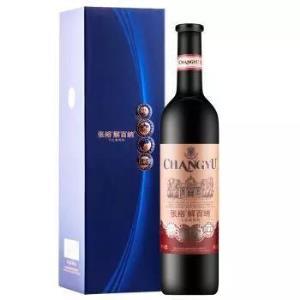 CHANGYU 张裕 珍藏级解百纳干红葡萄酒(磨砂瓶/礼盒装)750ml150.32元