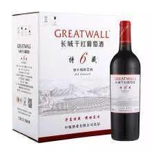 长城(GreatWall)红酒 耀世东方 特藏6 橡木桶解百纳干红葡萄酒 整箱装 750ml*6瓶 *2件506元(合253元/件)