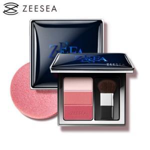 ZEESEA 滋色三色修容腮红盘8g(粉色系 裸妆保湿 提亮肤色 高光持久胭脂)33.27元