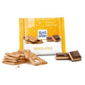 Ritter SPORT 瑞特斯波德 甜姜饼夹心牛奶巧克力制品 100g *10件99元(合9.9元/件)