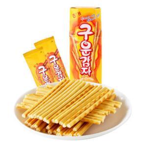 韩国进口海太薯条土豆条烤薯棒休闲零食饼干27g *16件106.4元(合6.65元/件)