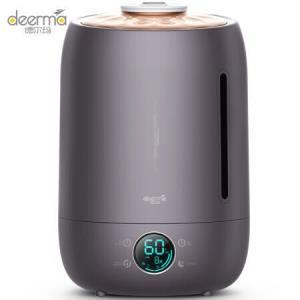 德尔玛(Deerma)加湿器 5L大容量 触控感温 智能恒湿家用静音迷你办公室卧室香薰加湿 DEM-F630    139元