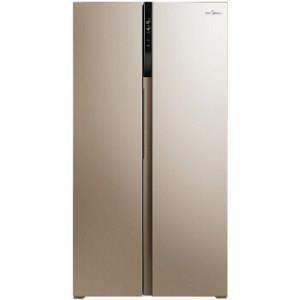 美的(Midea)655升 对开门冰箱 变频无霜 一级能效 智能APP 大容量电冰箱 米兰金 BCD-655WKPZM(E) 3399元
