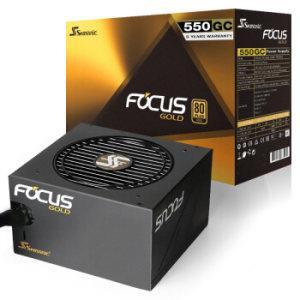 SEASONIC 海韵 FOCUS 550GC 电源 额定550W (80PLUS金牌、非模组) 359元