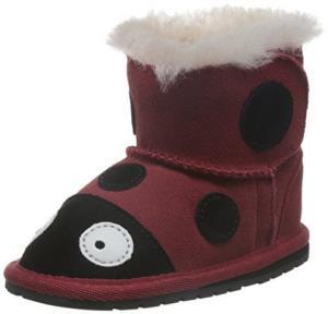 EMU Australia All Littles 婴童 Ladybrid Walker 宝宝鞋 B10317RED *3件 306.8元(合102.27元/件)