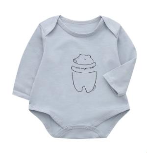 The little sugar milk baby 一米半糖 婴幼儿哈衣 *2件 69元(合34.5元/件)