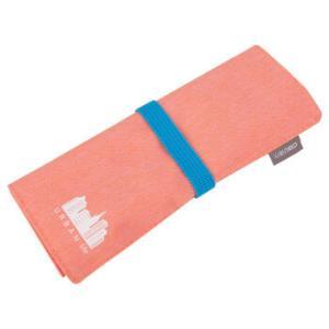 得力(deli)涤纶卷笔袋/大容量铅笔收纳袋/大胆撞色笔帘 粉红66749 *5件 37.5元(合7.5元/件)