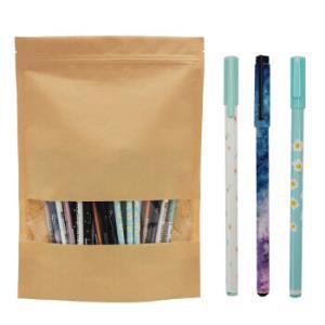 至尚・创美(SCM) zxb125 0.5mm+0.38mm+0.35mm中性笔/水笔/碳素笔/签字笔套装 黑色 50支装 笔杆随机11.5元