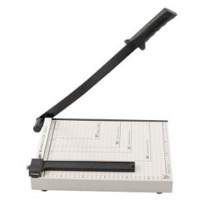 广博(GuangBo)300*250mm(可切A4纸)钢质切纸刀裁纸刀裁纸机QZD9214S44.5元