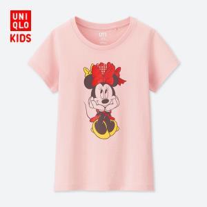 童装/女童 (UT) DPJ印花T恤(短袖) 413882 优衣库UNIQLO 39元