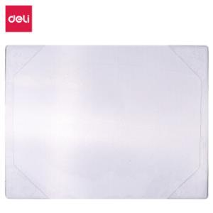 得力(deli)64K透明款手账本封套 手绘日程计划本保护壳 *5件 6.25元(合1.25元/件)
