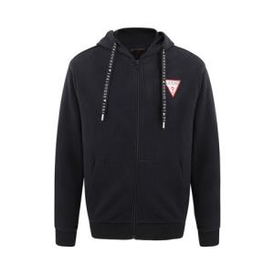 GUESS × BLACK PINK联名 白底LOGO口袋拉链卫衣外套 369元(需用券)