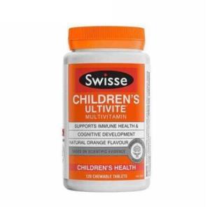 Swisse 瑞思 儿童复合维生素咀嚼片 120粒/瓶 2瓶装 149元包邮