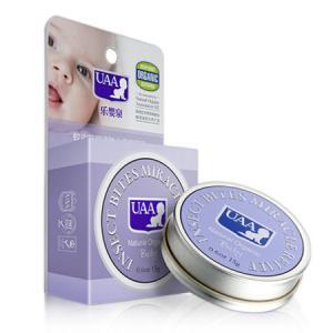 UAA 乐婴泉 婴儿紫草膏 宝宝驱蚊膏 15g *5件 99.5元(合19.9元/件)