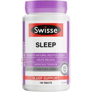 Swisse 睡眠改善片 100片 *2件 98元(双重优惠)