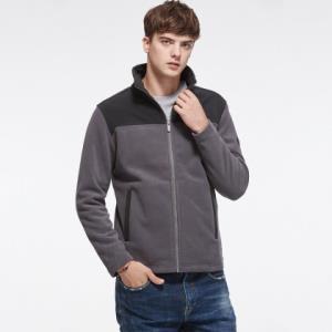运动时尚 潮流户外 男式绒外套 加厚抓绒外套 218元
